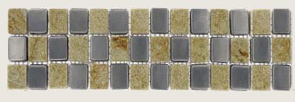 Quartzite/Metal Border