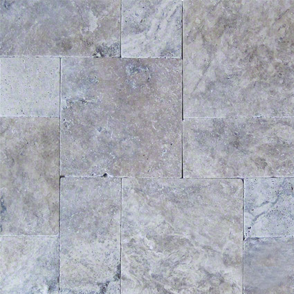 Silver-Travertine-Pavers