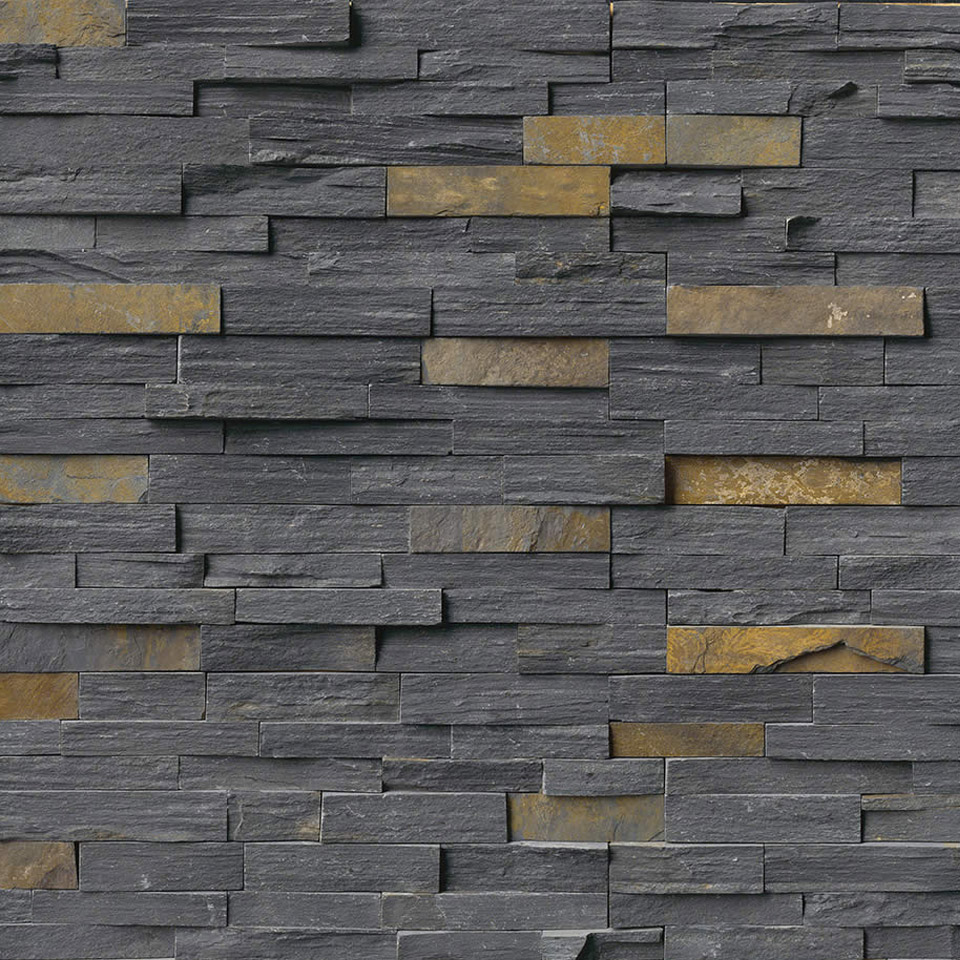 Ledger Stone Wall Cladding : Stacked stone cladding panels amp tiles home