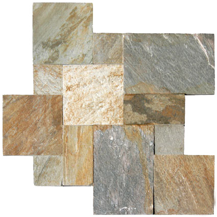 Golden-White-Patterns tiles