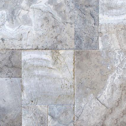 Silver-Travertine-Patterns tiles
