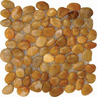 Yellow Polished Pebbles